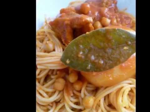 Makrouna bel salsla p tes tunisiennes cuisine - Youtube cuisine tunisienne ...