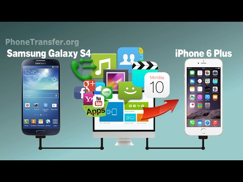 How to Transfer All Files from Samsung Galaxy S4 to iPhone 6, iPhone SE or iPhone 6 Plus