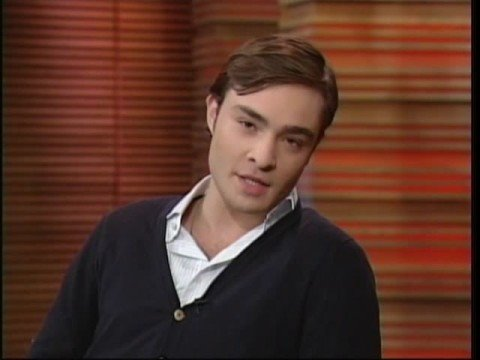 Ed Westwick on Live with Regis and Kelly (10.13.08)