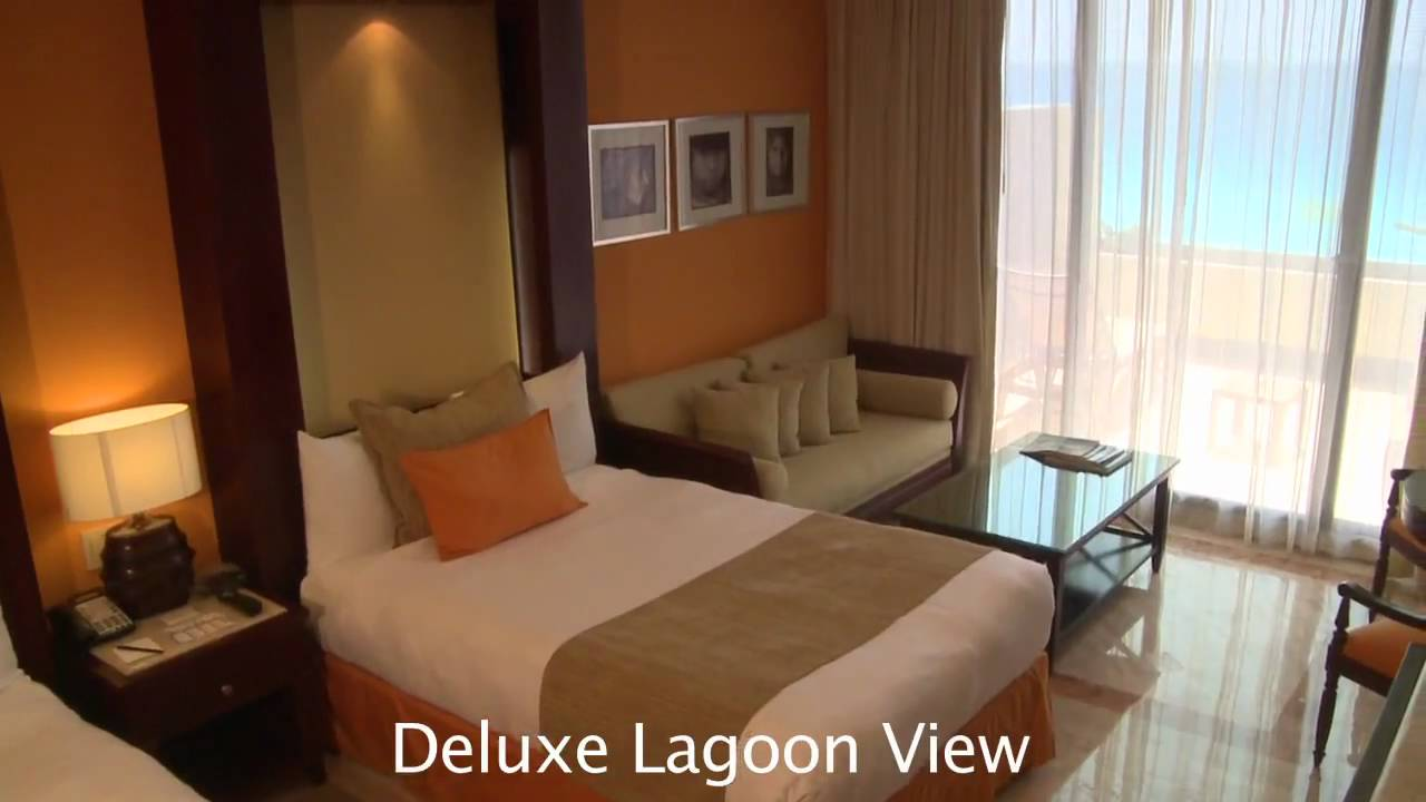 Gran Melia Cancun Deluxe Lagoon View Room Preview Youtube