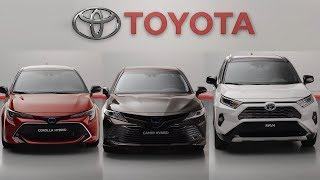 Toyota Paris Motor Show Digital Press Conference - 2019 Corolla, Camry & RAV4