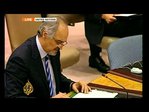 Syria responds to UN Security Council resolution reached