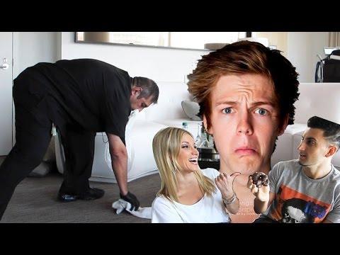 Hotel Poop Prank - Prank Academy W  Caspar Lee video
