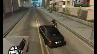 GTA SA Emergency Light's Mod Unmarked Crown Victoria