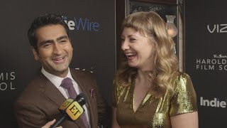 Kumail Nanjiani and Emily V. Gordon's Key to Success in Working Together? No Pants (Exclusive)