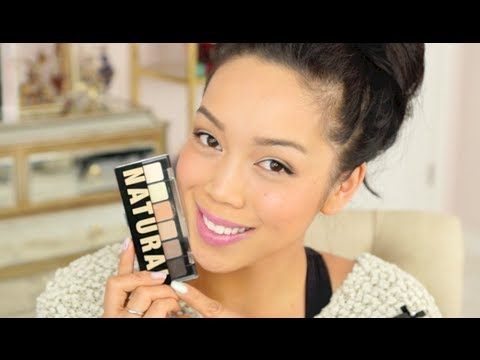 NEW NYX Natural Palette Makeup Tutorial - itsjudytime