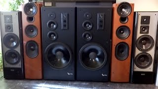 Kef Q11 Speaker Test Against Magnat Zero 7 And Infinity Sm 152