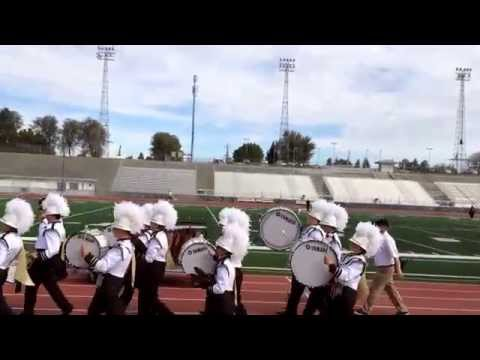 Vallivue High School exit cadence at the 2014 Cavalcade of Bands