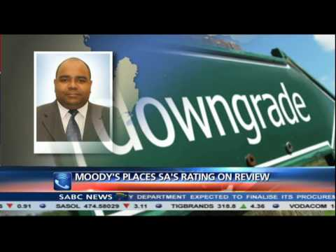 Moody's placing SA's rating on review: Aurelien Mali