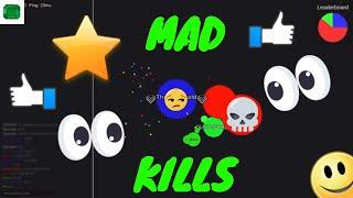 Agar.pro/ Mad wins and Kills