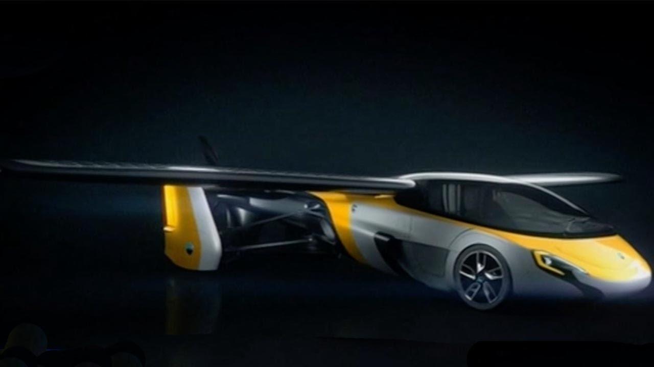 Slovakian company unveils hybrid flying car