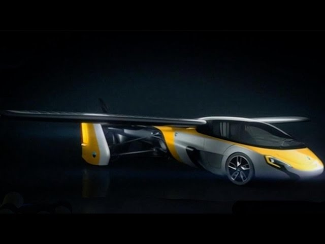 Slovakian company unveils hybrid flying car