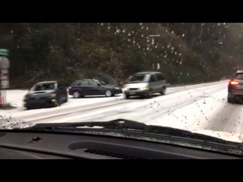 Northwest Snow Makes Holiday Travel Dangerous