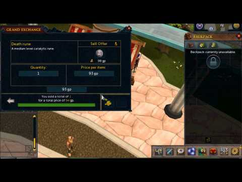 Runescape 3 2014 Ultimate Starter Flipping guide (Easy Money)