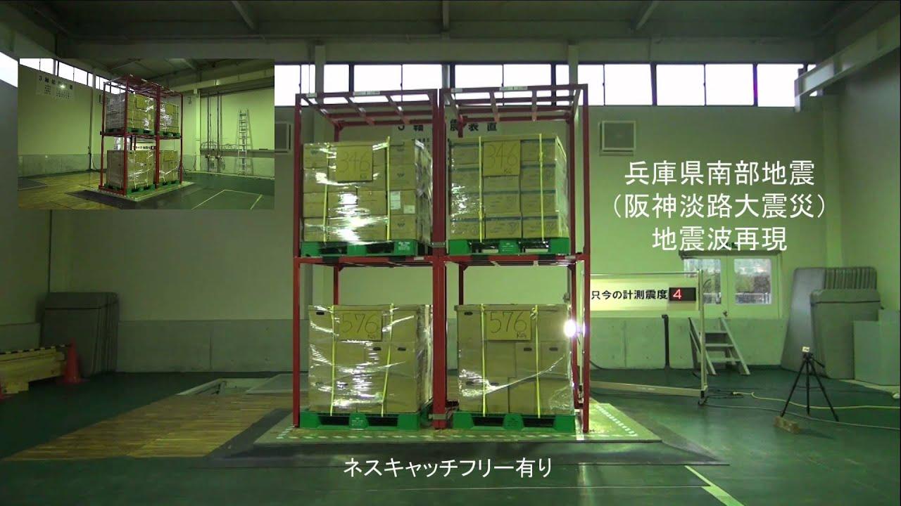 ネスキャッチフリー(正・逆ネス用)耐震実験