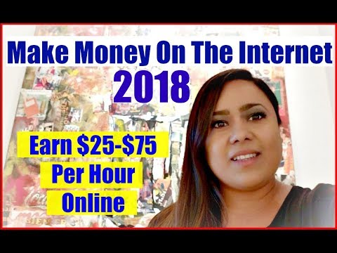 """How To Make Money On The Internet ""  How To Make Money Online Fast Working From Home 2017 & 2018"