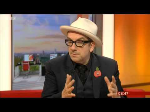 Elvis Costello Unfaithful Music BBC Breakfast 2015