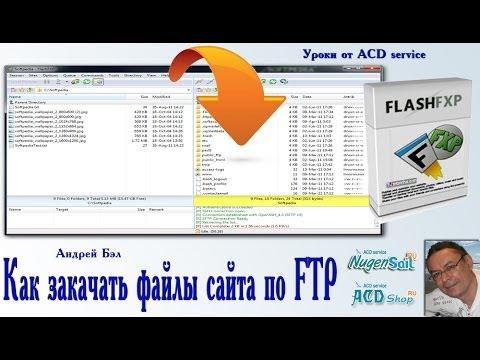 Как закачать файлы по FTP с помощью FlashFXP