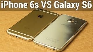 Apple iPhone 6s VS Samsung Galaxy S6 сравнение. Что лучше iPhone 6s или Galaxy S6 by FERUMM.COM