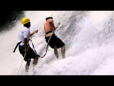 Rapel e Aventura na Cachoeira do Véu da Noiva em Bonito - PE (HD)