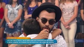 download musica Menino que faz sucesso na internet conhece o ídolo Thiago Brava