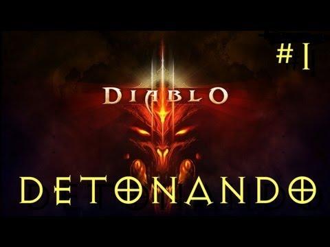 Detonando Diablo 3 – O Ínicio! [Parte 1] (PT-BR)