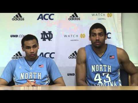 UNC Men's Basketball: Post Notre Dame Press Conference
