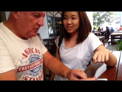 Teaching Foreign To Speak Malaysian Chinese Dialect video