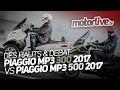 DES HAUTS DEBAT LES PIAGGIO MP3 300 2017 Vs MP3 500 2017 mp3