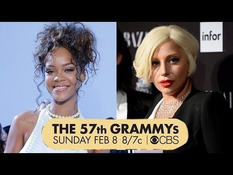 Rihanna & Lady Gaga 2015 Grammy Performers! video