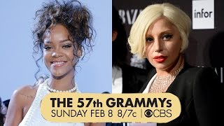 Rihanna & Lady Gaga 2015 Grammy Performers!