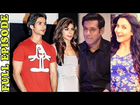 Planet Bollywood News - Shahid Kapoor Abused Priyanka Chopra During An Award Rehearsal, Salman Khan Helps Elli Avram On Her video