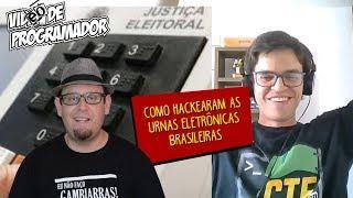 Como hackearam as urnas eletrônicas brasileiras? A eleição está segura?