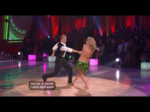 Jennie Garth and Derek Hough - Jive, Week 8 of Season 5 - High Quality