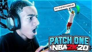 NEW PATCH 1 NBA 2K20 GAMEPLAY! DRIBBLE & GAME SPEED INCREASED + REP PROGRESSION FIXED?!