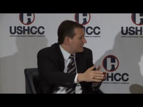 United States Hispanic Chamber of Commerce Q&A with Ted Cruz