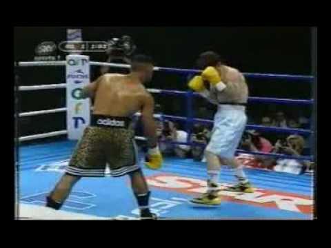 Naseem Hamed Vs Juan Gerardo Cabrera (ENTRANCE & FULL FIGHT)