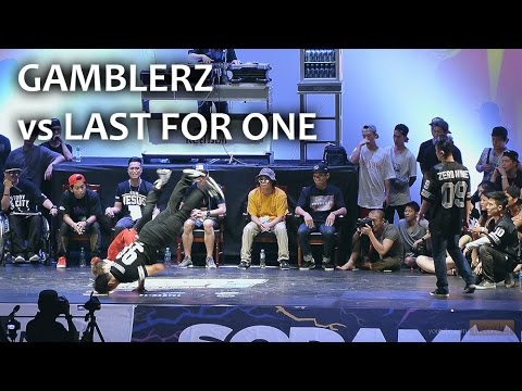 BOMB JAM KOREA 2014 -Semi Final- Gamblerz vs Last for one