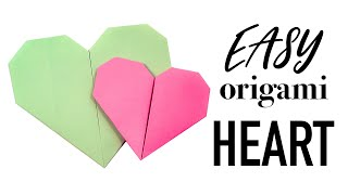 Easy Origami Heart Tutorial ♥︎ DIY ♥︎