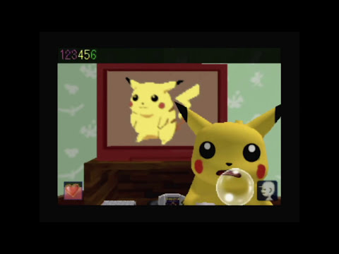 CGR Undertow - HEY YOU, PIKACHU! review for Nintendo 64