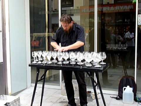 Petr Spatina / Glass harp Music Videos