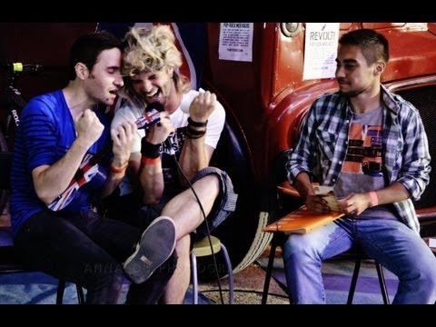 REVOLT! Radio @ MassiliaRock '13 - Interview de Donna Ashtray