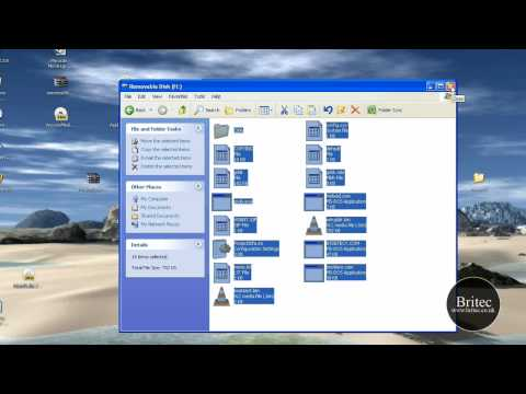 How to Install and Run Windows XP on a USB Flash or Pendrive
