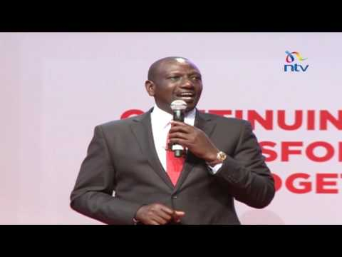 DP William Ruto's opening remarks at Jubilee manifesto launch