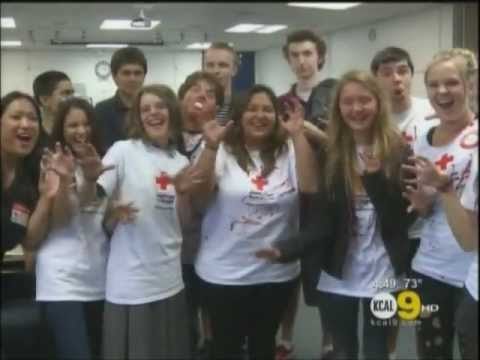 Brower, Miller & Cole Secures KCAL-9 Coverage of The Prentice School's Halloween Blood Drive - 11/05/2012