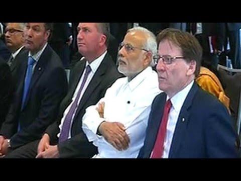 Narendra Modi in Brisbane for G20 Summit