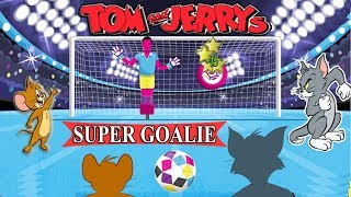 Tom And Jerry - SUPER GOALIE. Fun Tom and Jerry 2018 Games. Baby Games #LITTLEKIDS