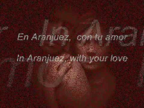 Nana Mouskouri / En Aranjuez Con Tu Amor. - In Aranjuez With Your Love.