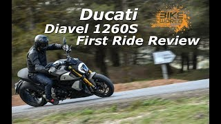 2019 Ducati Diavel 1260S First Ride Review (4K)