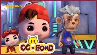 GG Bond - Agent G 《猪猪侠之超星萌宠》EP74《吸吸长寿星人》